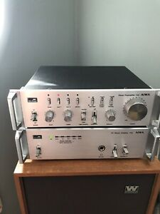 AIWA Mini Component Stereo System C22 P22 Vintage Made in Japan