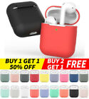 For Apple AirPods Charging Case 2 / 1 Silicone Protective Slim Cover Protector