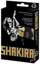 Shakira In-Ear Buds Music Artist Headphones for iPod iPhone MP4 MP3 Player