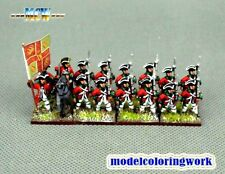 15mm SYW Seven Years War WGS painted French Bulkeley Infanterie FA18