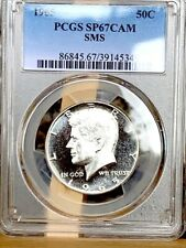1965 Silver Kennedy PCGS SP 67 Cameo * Top Quality & Rare! *
