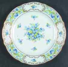 Schumann Bavaria FORGET ME NOT-RIM Salad Plate 658021