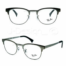Ray Ban RB 6317 2834 Matte Gray 51/20/145 Eyeglasses Rx Made Italy - New