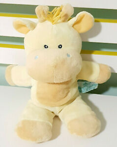 Russ Baby Yellow Giraffe Plush Toy w/ Rattle Children's Toy 29cm Tall!