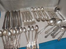 VTG Rogers 1881 Silverplate Flatware Flirtation Knives Fork Spoon Serving Pieces