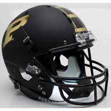 PURDUE BOILERMAKERS Schutt AiR XP Full-Size REPLICA Football Helmet (BLACK)