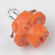 Ring Miniature Bulbs - 12 V 1 W Bx8.5D - Panel (Orange Base) (RU509TOR)