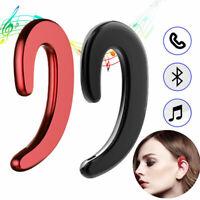 Ear Bluetooth Auriculares de conducción Auriculares Inalámbrico Mic Estéreo