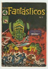 Fantastic Four 49 - La Prensa Mexican Edition -1st Full Galactus - 4 Fantasticos