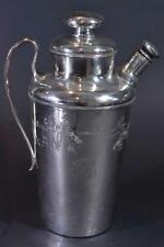 Vintage Silverplate Golf Theme Coffee Pot Circa 1920's  NICE! (#2) Initials HEC