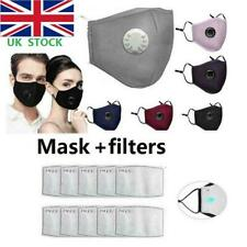 PM2.5 Anti Air Pollution Reusable Washable Face Mask & Activated Carbon Filters