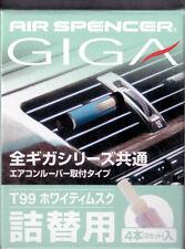 Air Spencer GIGA Car Air Freshener REFILL - WHITY MUSK (T99)