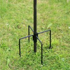 More details for bird feeder stabilizer stand feeding station stake holder 4 feet spikes black