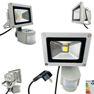 LED Fluter 10W 30W 50W Strahler Flutlicht Scheinwerfer IP65 Bewegungsmelder Slim