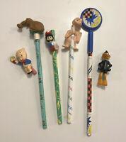 Vintage Universal Studios ET Applause Nintendo Mario 1989 pencil lot
