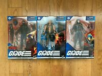 GI Joe Classified Series Lot: Cobra Trooper, Cobra Commander & Gung Ho FAST SHIP