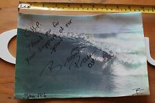 Brian Press 2003 Surfing Chp Surf Shop Signed Autographed Photo 8x11in. Poster