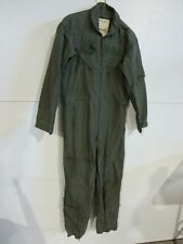 Vintage Military USAF Issue Men's Flyer's Coveralls CWU-27P Sage Green 38R
