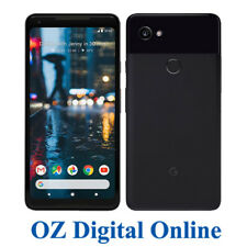 "New Google Pixel 2 XL 6.0"" Android 8 4G 12.2MP 128GB Black Unlocked Phone 1YrWty"