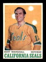 1970 O-Pee-Chee #188 Bert Marshall  EXMT/EXMT+ X1428884