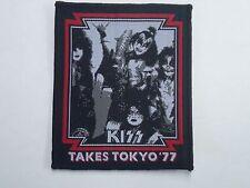 KISS TOKYO 77 WOVEN PATCH