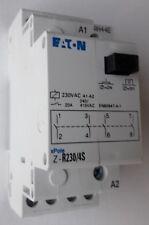 EATON 20A Installationsrelais 230V 4 Schließer Z-R230/4S