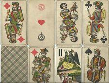 altes Kartenspiel Tarock von Fa. Adametz- Wien ca. 1943-44
