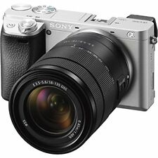 Sony a6300 Digital Camera with 18-135mm Lens - Silver