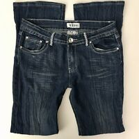 BB Jeans Womens Junior Size 15 Embellished Rhinestones Crinkled