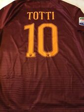 AS ROMA  / TOTTI  no MATCH Worn  MAGLIA  Jersey TRIKOT  NIKE 16/17 Authentic