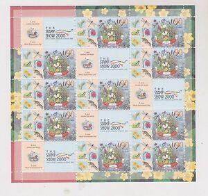 SLOVENIA,2000,LONDON stamp expo ,nice sheet ,MNH