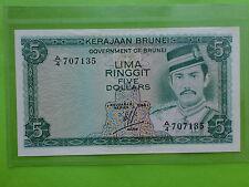 Brunei $5 1984 (Gem UNC)