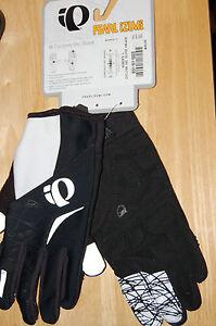 pearl izumi womens cyclone gel gloves black large soft shell lite cycling