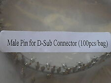 Male Pin for D-Sub Connector (100pcs/bag) 17236