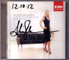 Alison BALSOM Signiert TRUMPET & ORGAN Eben Purcell Sweelinck Tomasi Messiaen CD