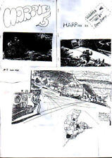 HARPIES #5 & #6 - 1969 Science Fiction fanzines have 8 illos by George Metzger