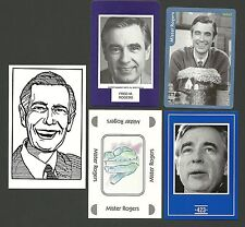 Mister Rogers' Neighborhood Fred McFeely Rogers Fab Card LOT Children's TV Host
