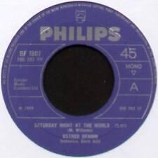 "ESTHER OFARIM ~ SATURDAY NIGHT AT THE WORLD ~ 1969 UK 7"" SINGLE ~ PHILIPS BF1807"