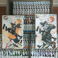 Used Japanese Comics Manga Complete Set Haikyuu vol. 1-45(language Japanese)