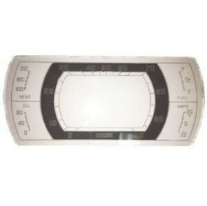 Instrument Cluster Lens for 1937 Dodge Passenger Cars