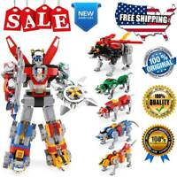 Building Blocks Set Ideas 16057 Voltron Defender Of The Universe Model Brick Toy