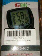 LCD Bike Bicycle Cycling Odometer Speedometer with Wireless Heart Rate F1C9