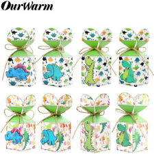 12x Dinosaur Candy Box Sweet Favors Treat Gift Bags Kids Birthday Party Supplies