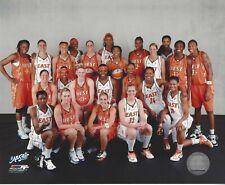 2007 WNBA ALLSTAR TEAM + EAST + WEST TEAMS LICENSED COLOR 3 PHOTOGRAPHS *STARS*