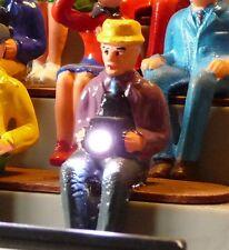 Slotcar BLITZLICHT GEWITTER 6er für Carrera Figuren mit KAMERA auf TRIBÜNE 51640