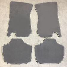 Fußmatten Autoteppiche für Ford Capri 3  Bj. 1978-1987 Grau 4 teilig Velours