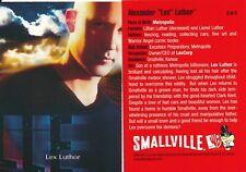 INKWORKS SMALLVILLE SEASON 1 CD PROMO CARD LEX LUTHOR  #3