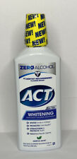 ACT Whitening Anticavity Fluoride Mouthwash Zero Alcohol Gentle Mint 16.9 oz.