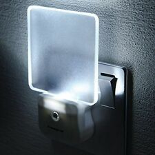 Integral Auto Sensor Dusk Dawn LED Night Light Plug in Transparent Tubular 1pack