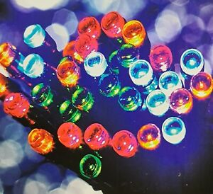 200 Multicolour LED Battery Operated Timer String Lights ChristmasXMAS Tree Deco